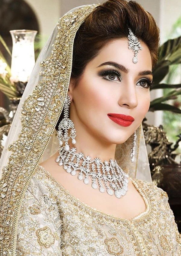 Bold Lipstick styles for Bridal