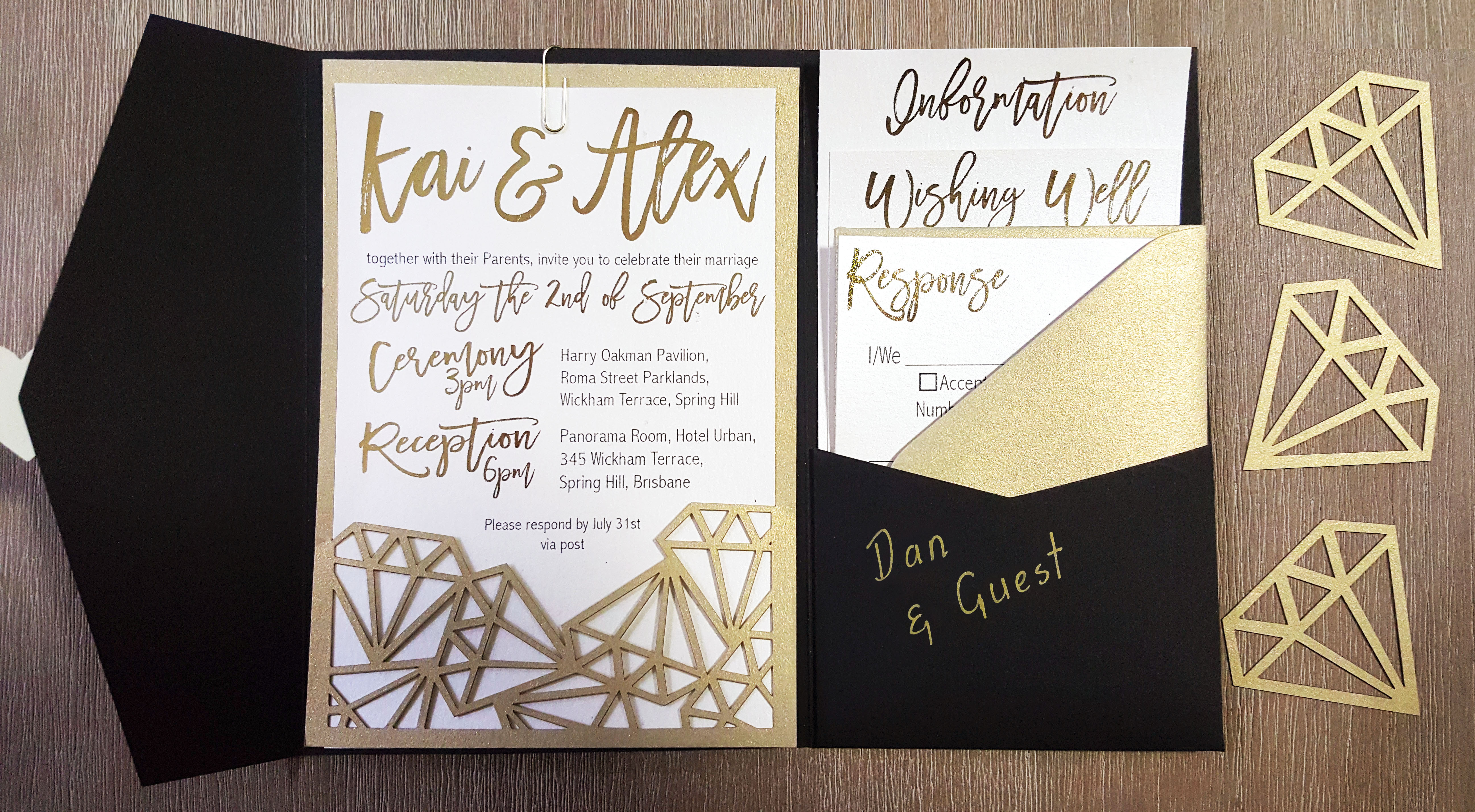 This wedding invite is all you need