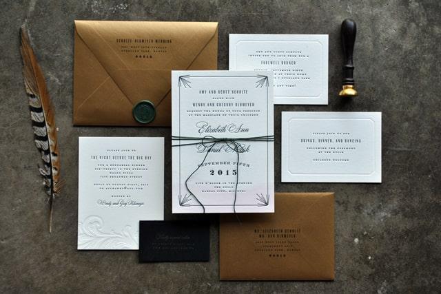 Jane Austen letter wedding invitation