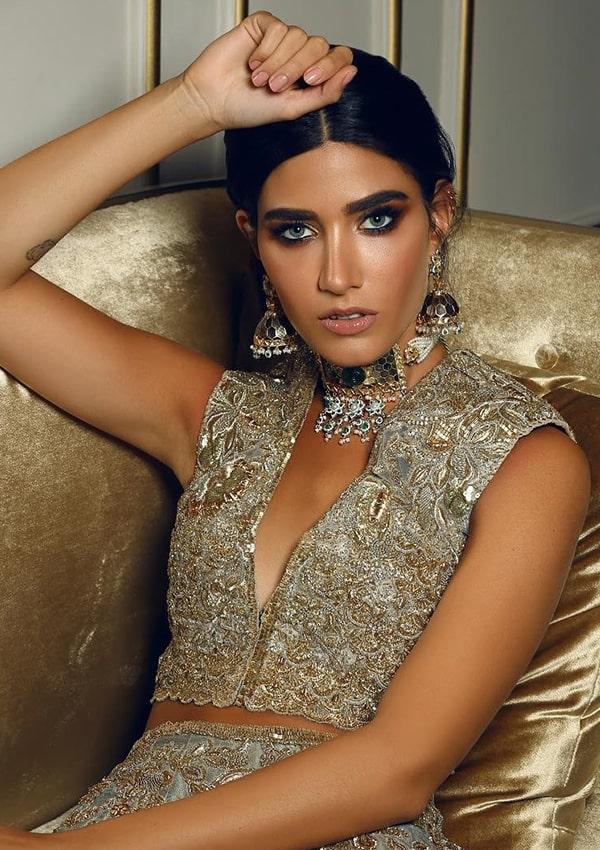 Neemar Bridal jewelry Styles on twitter account