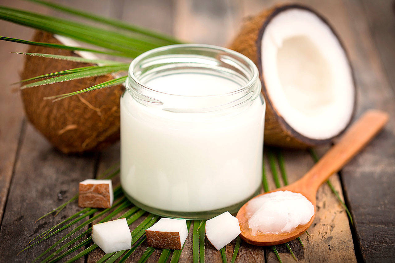 Coconut Oil for healthy white teeth