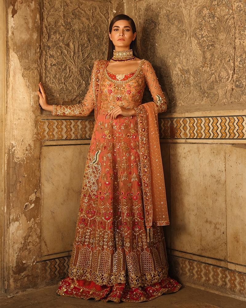 ddf2b2406cbf2 Coral Colour Wedding Dresses