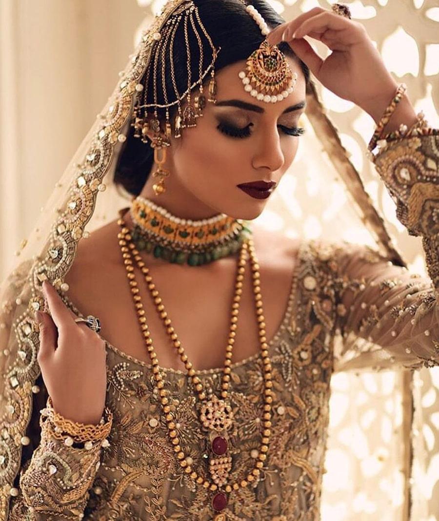 Pearl Mangtikka Designs For Brides of 2019