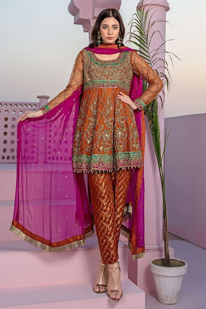 Formal suit by Aisha Imran Designer