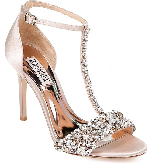 1.	Badgley Mischka Crystal Embellished Sandal