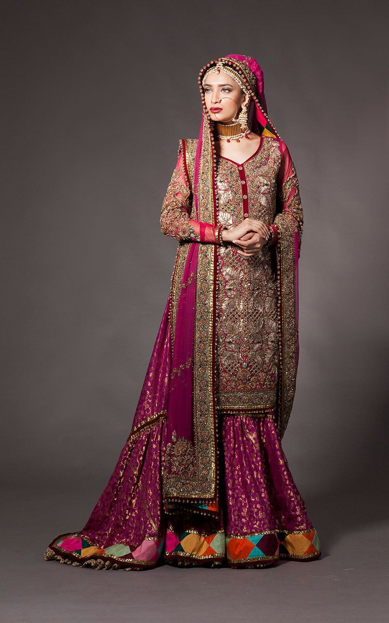 Indian Banarsi Bridal Lehenga