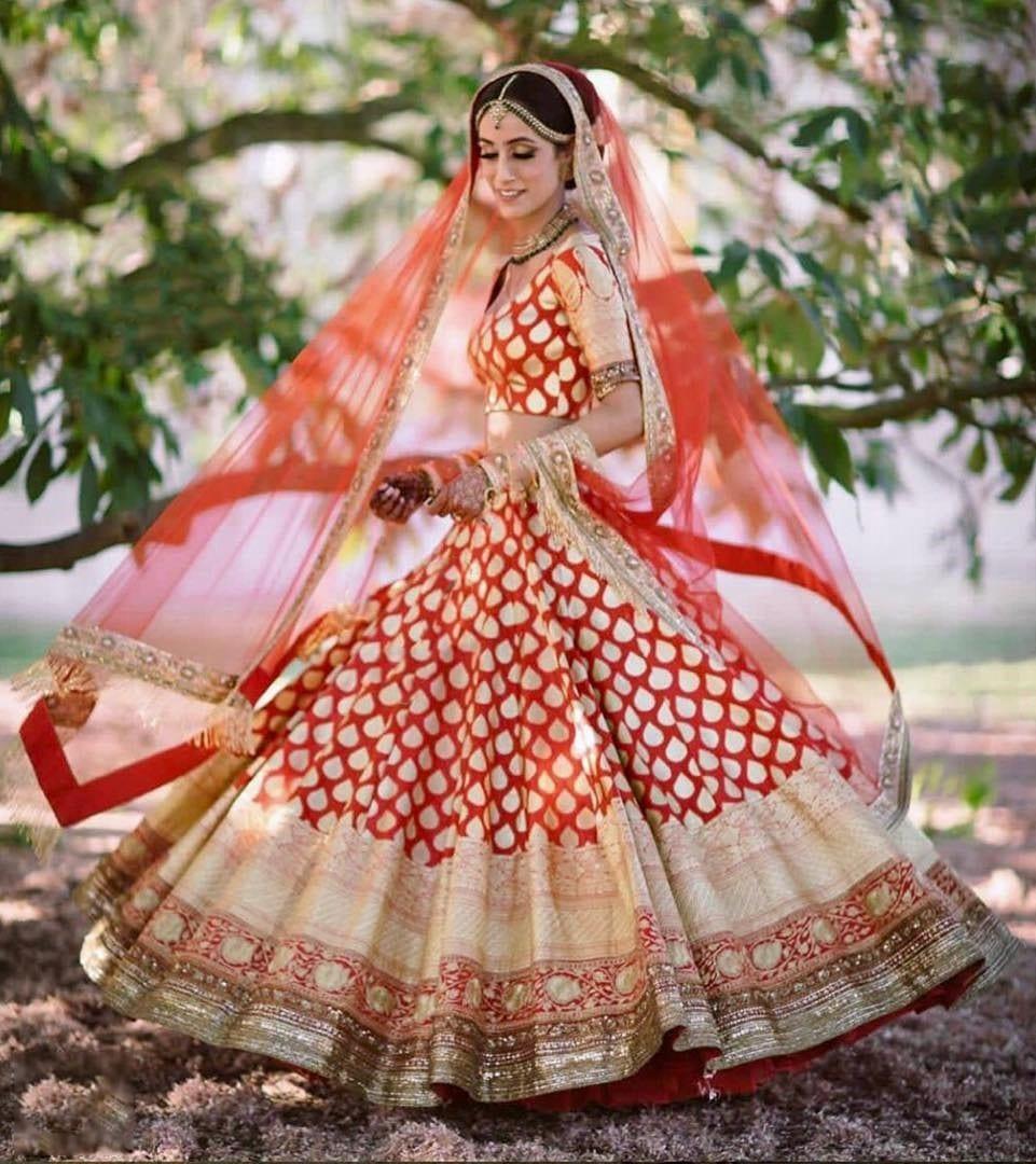 Traditional Bridal Banarsi Lehenga