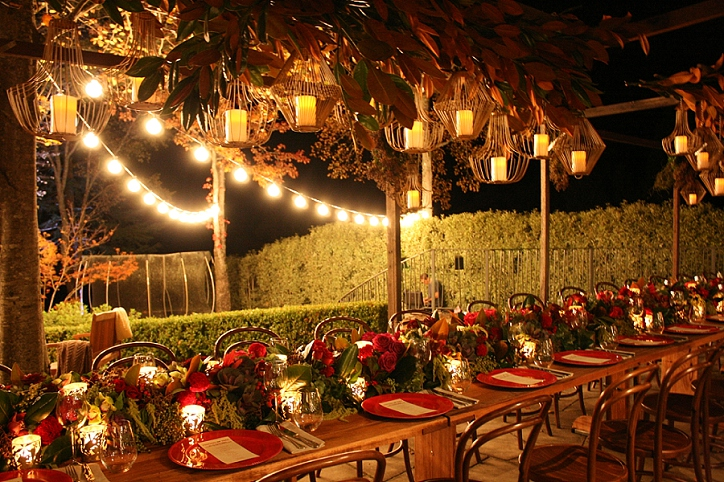 Miscellaneous Venue Décor Elements for a Lush Wedding Vibe