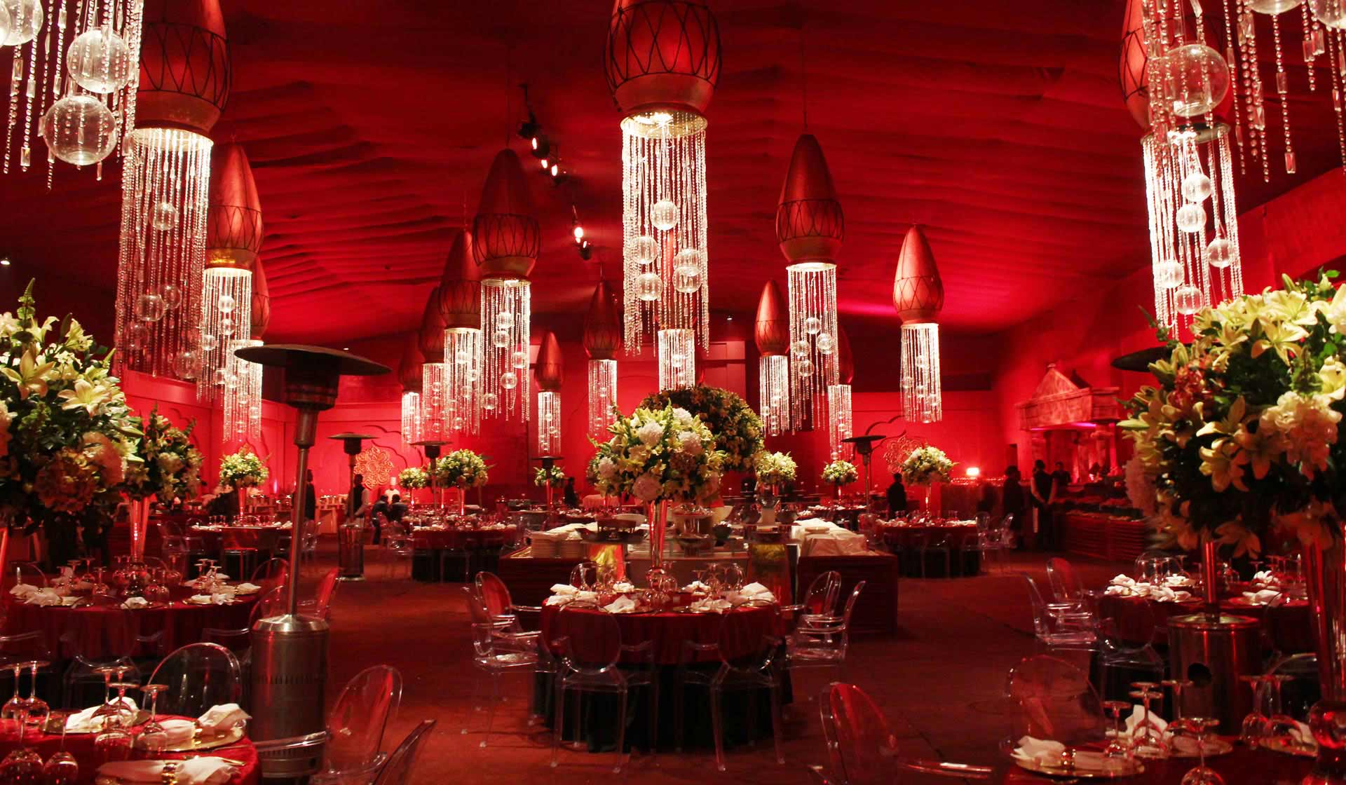 Five Shades of Red to Consider for Your Wedding Decor