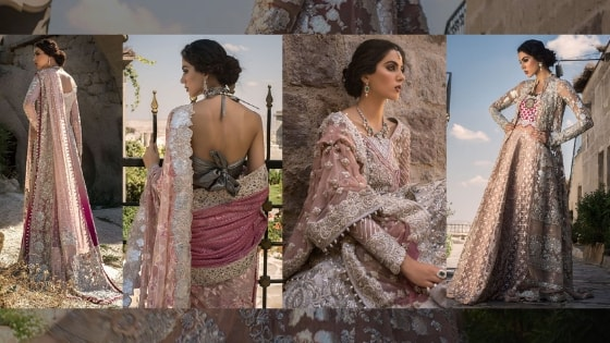 Zainab Chottani's Latest Bridal Collection Gowns Are Basically Love Poems in Pink