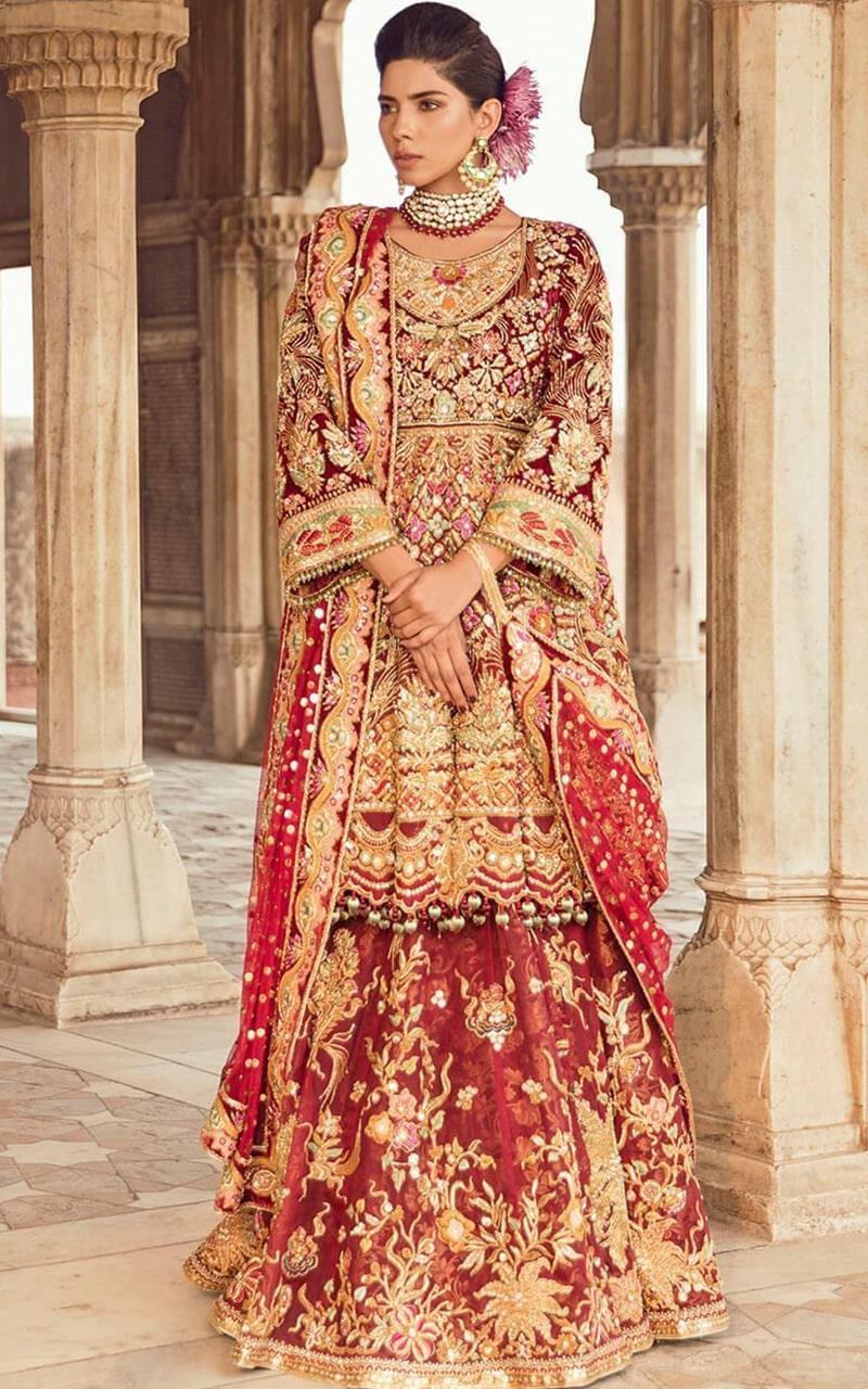 Brocade Bridal Suit