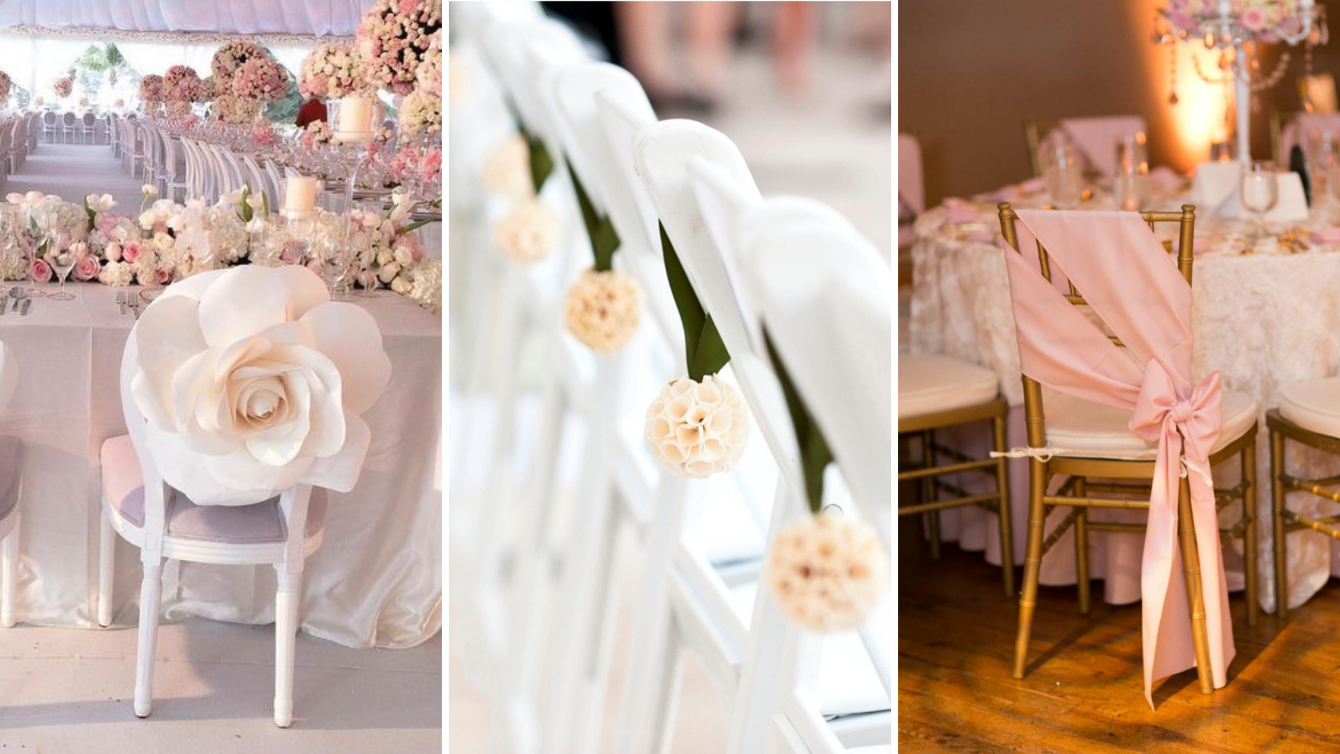 Wedding Banquet Chairs' Decor