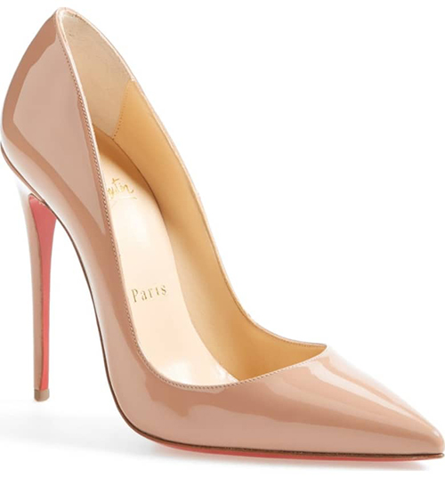 8.	Christian Louboutin Kate Pointy Toe Pump