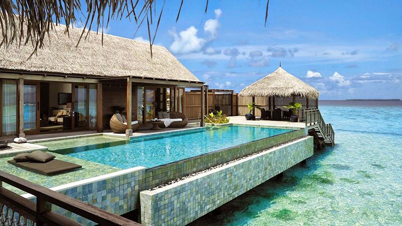 2.COMO Cocoa Island Resort-Maldives