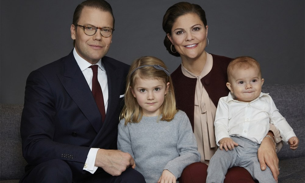 Princes Victoria with her family