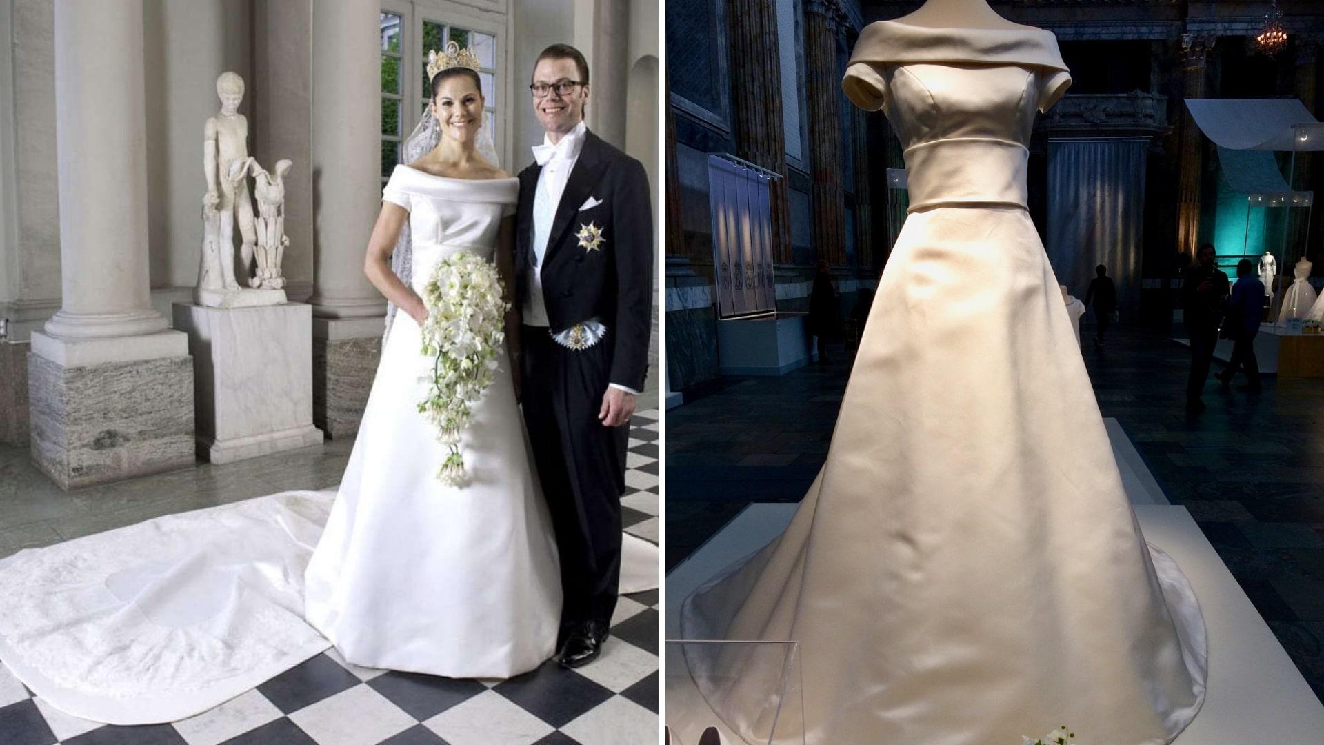 Crown Princess Victoria of Sweden in her Bridal Dress