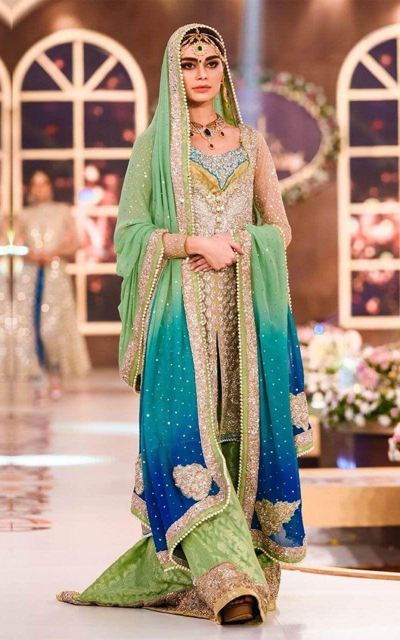 Georgette fabric for wedding Lehenga