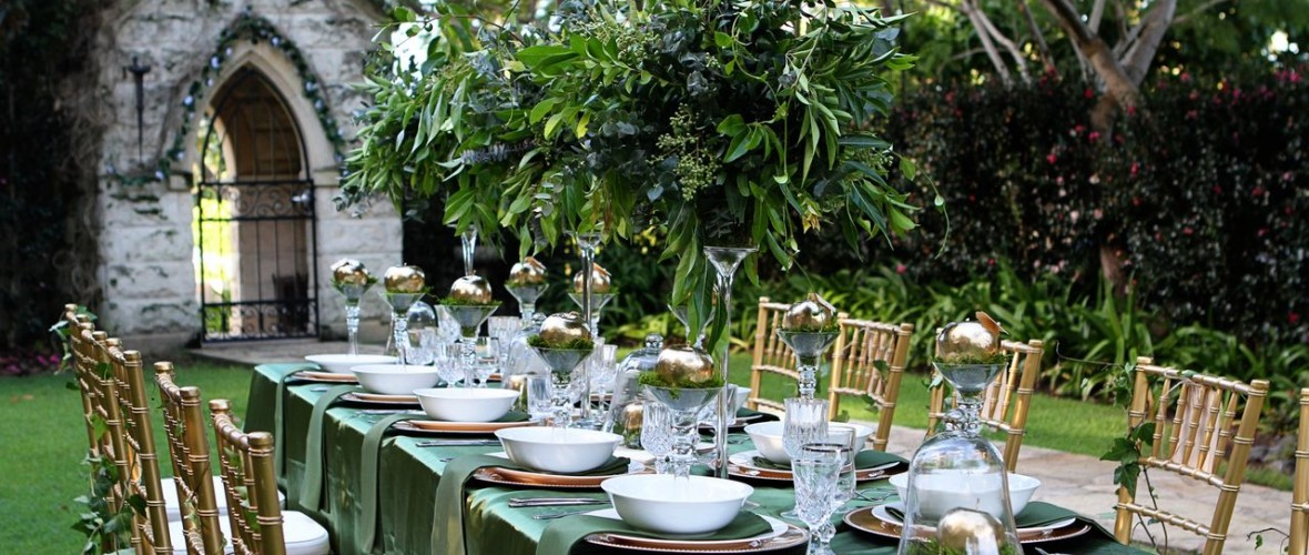 Outdoor Natural Green Wedding Decor
