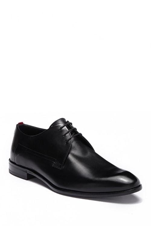 7.Hugo Boss Plain Toe Leather Derby
