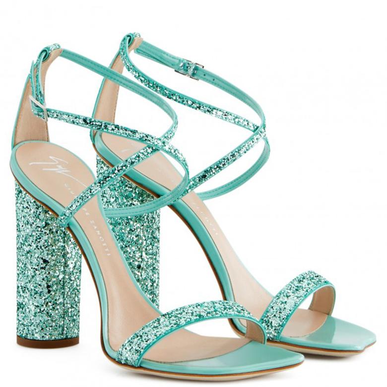 ICE Blue Bridal heels