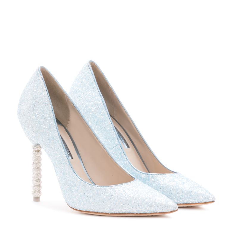 ICE Blue wedding heels for Bridals