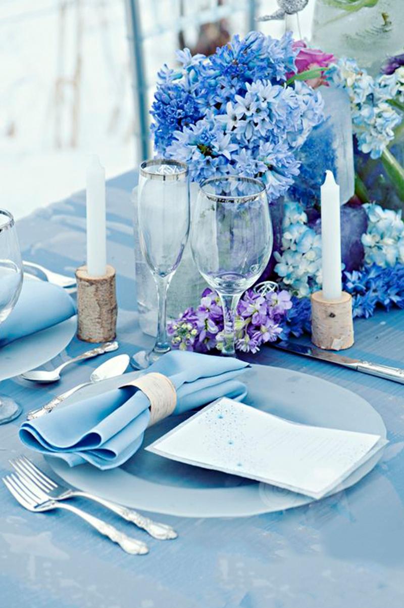 ICE Blue wedding Decorations