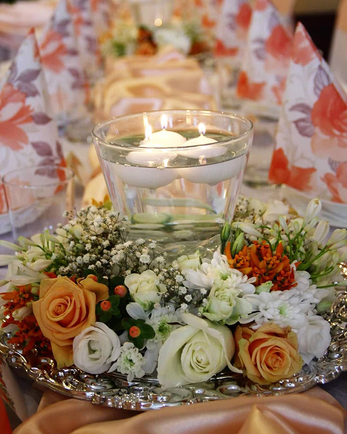 Florist Wedding Decor