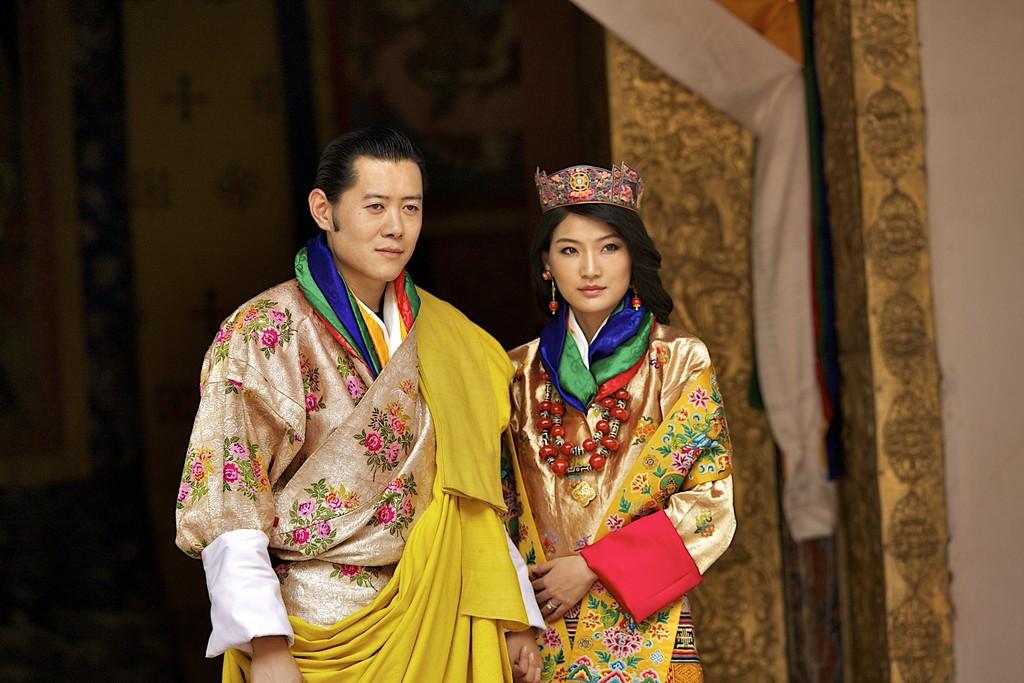 King Jigme and Queen Jetsun Pema