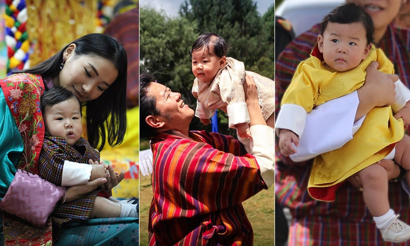 King Jigme and Queen Jetsun Pema on their wedding