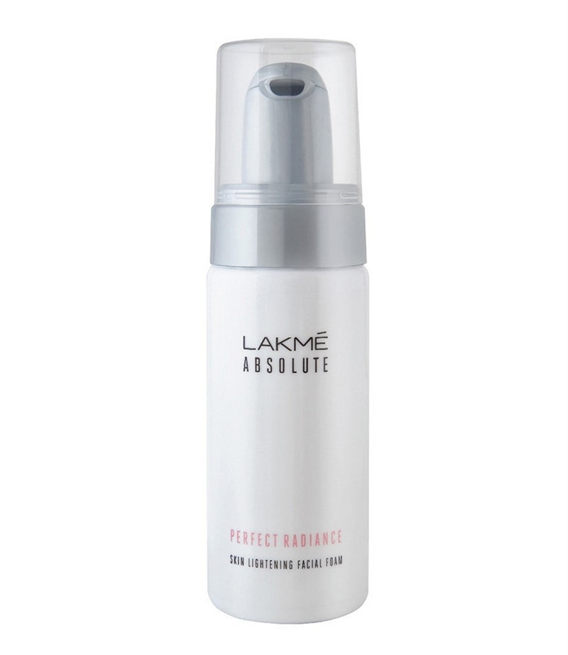 7.	Lakme Absolute Perfect Radiance Facial Foam