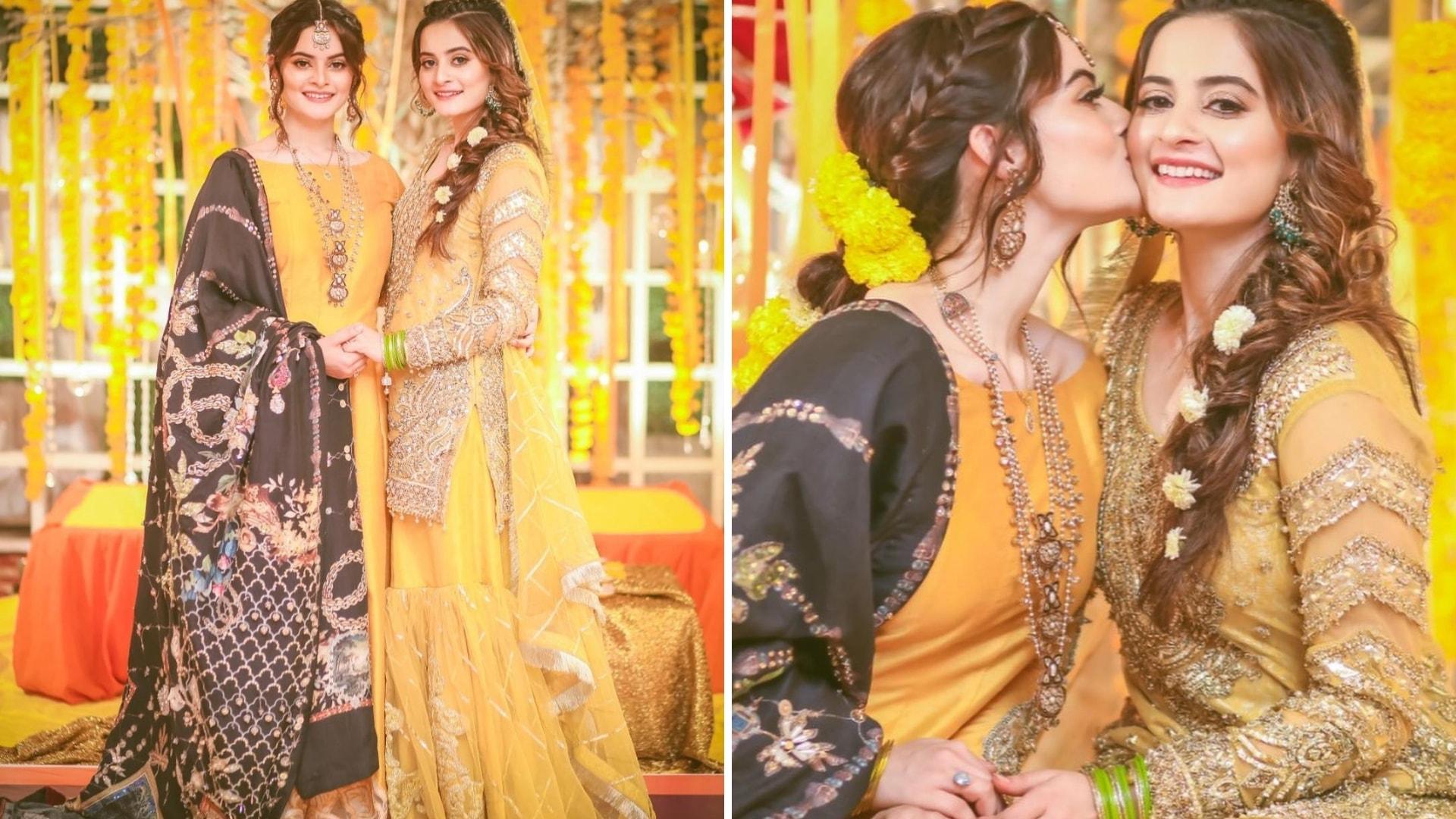 Aiman's Mayoon Bridal Dress