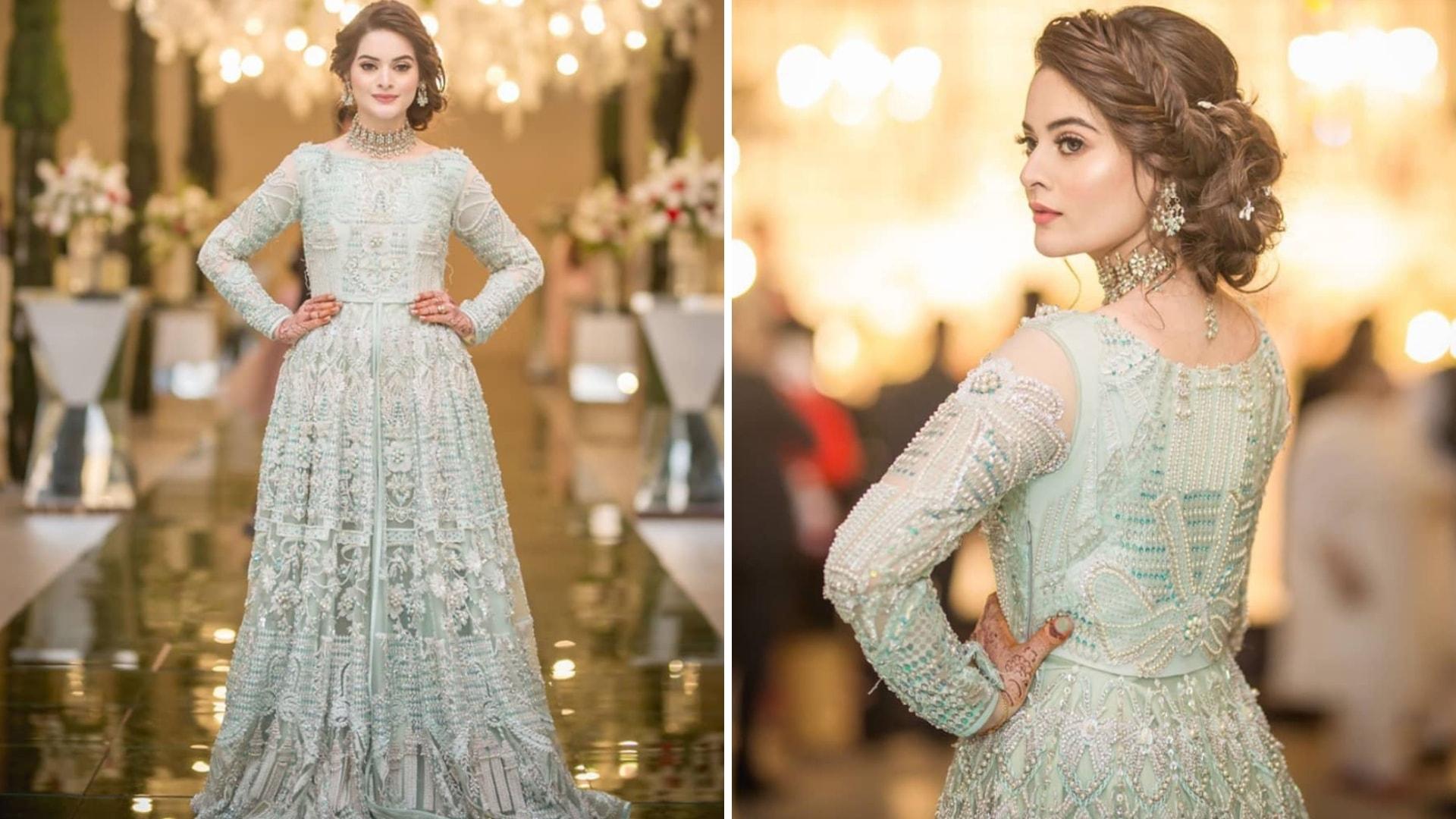 Minal dress at Aineeb wedding