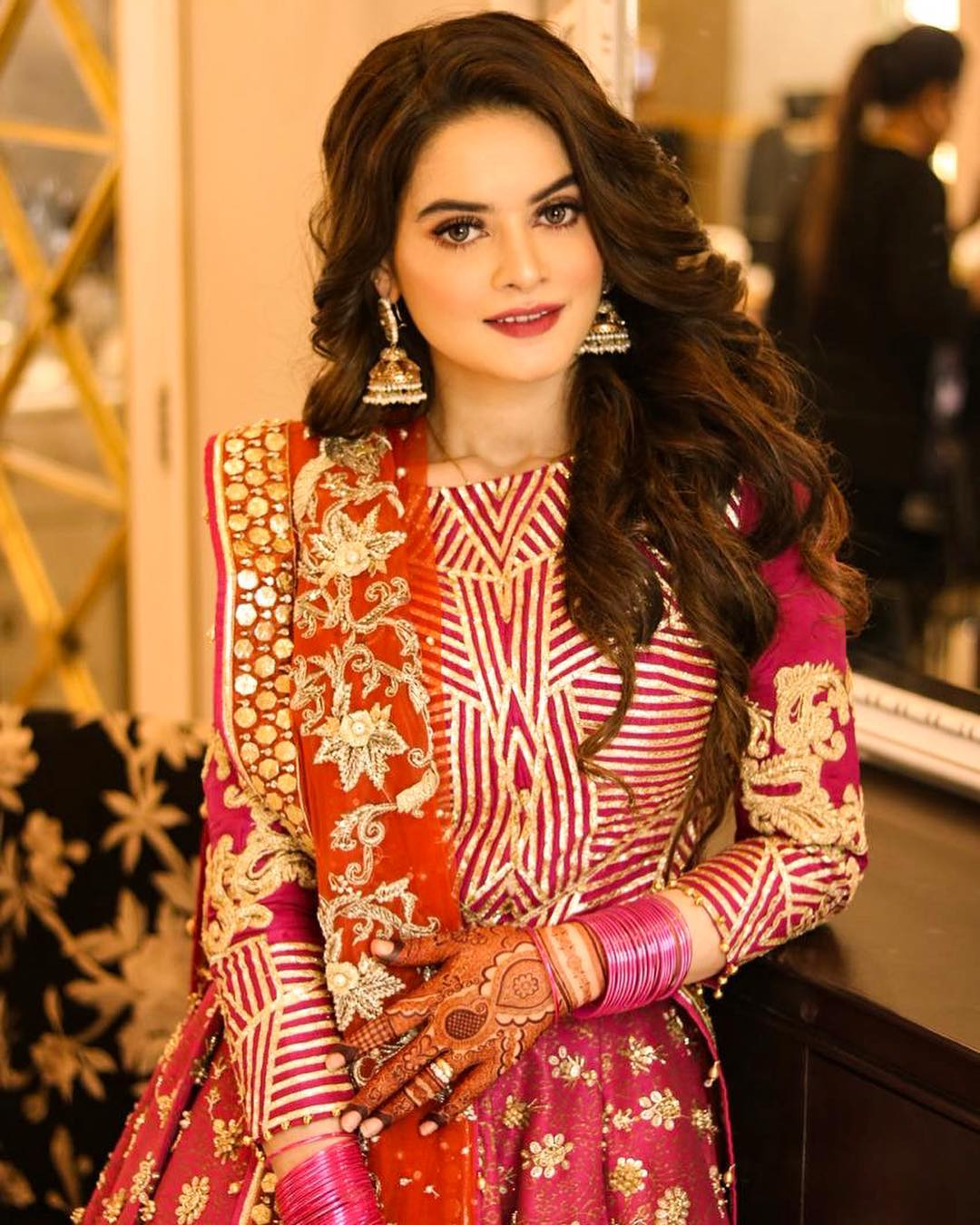 Bridal Dress for Aiman's Mehendi