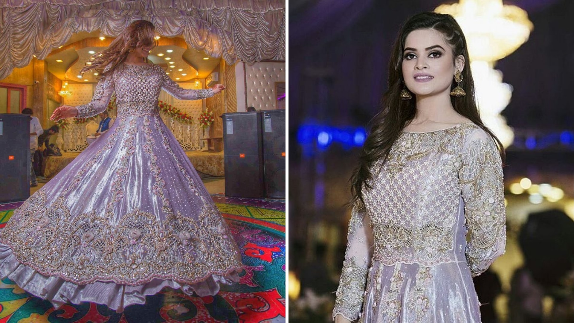 Pakistani Celebrities wedding and their dresses