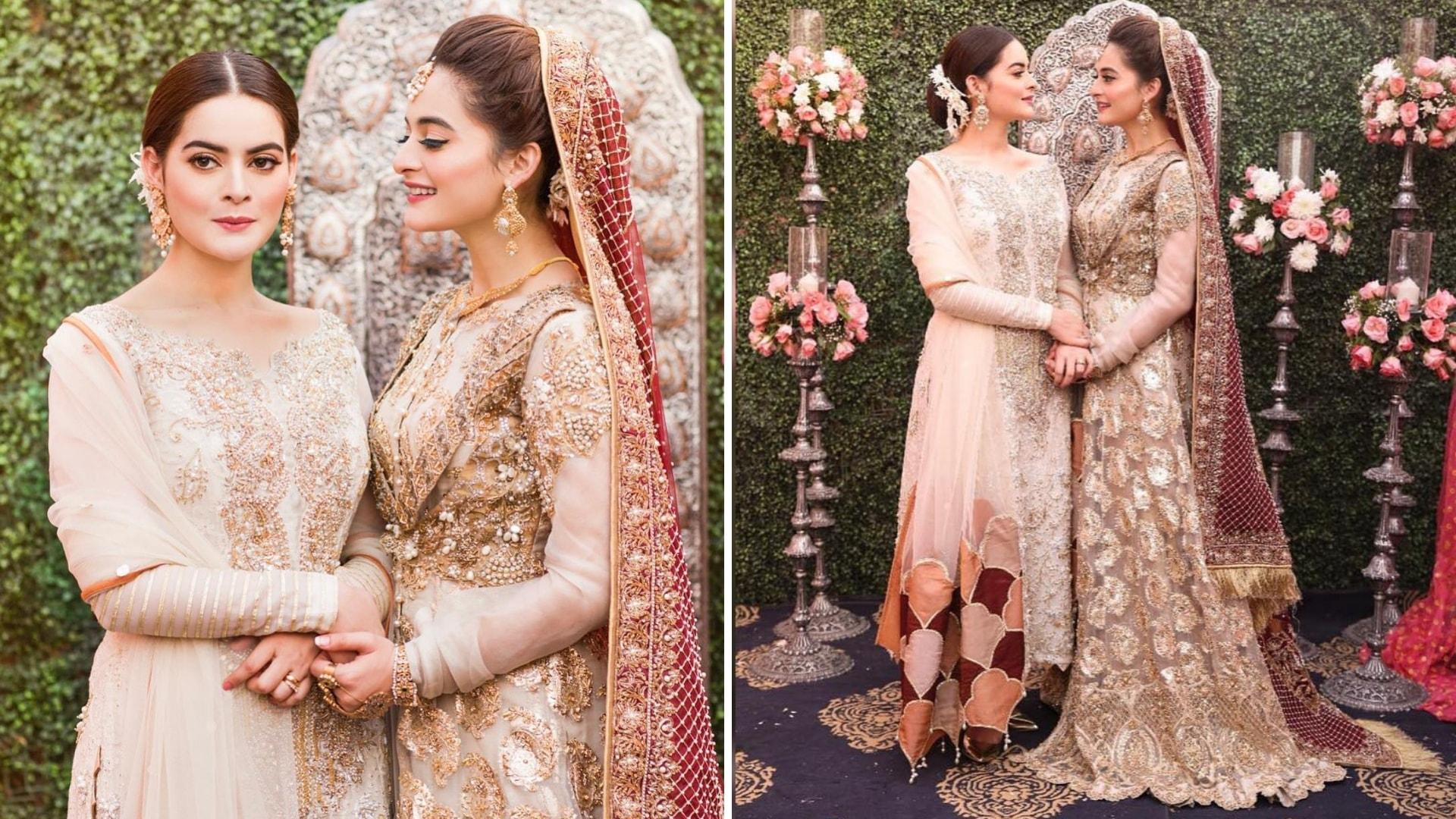 Minal Nikkah dress for bridal