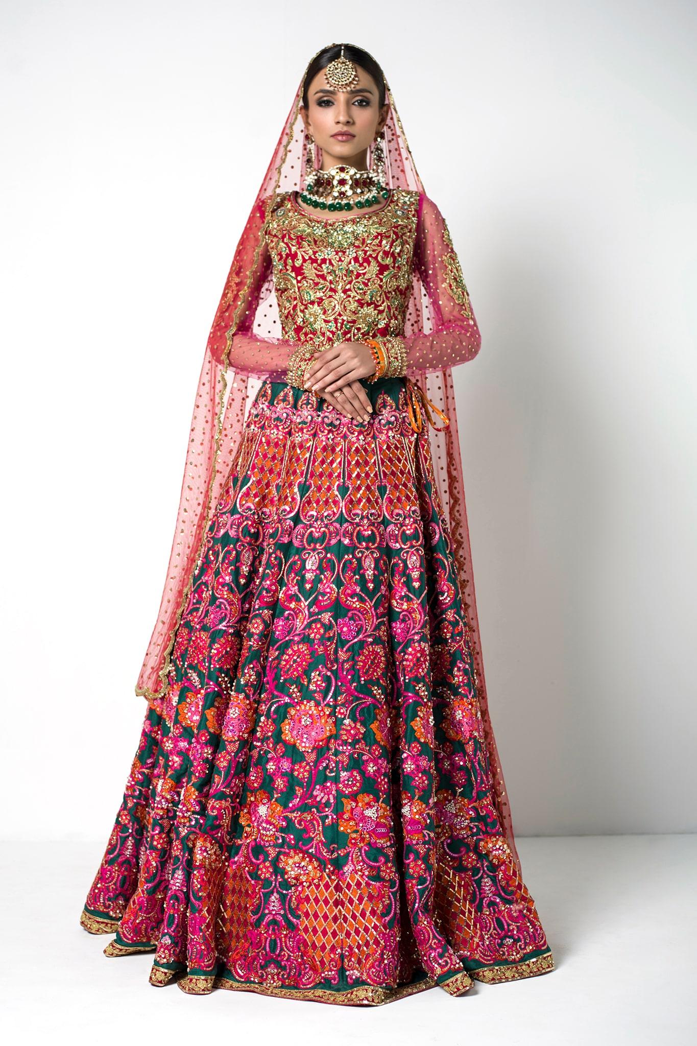 PinkBridal Dress by Nomi Ansari