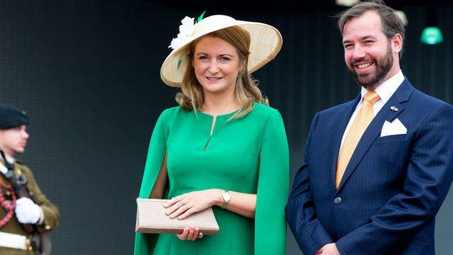 Prince Guillaume of Luxembourg and Stephanie de Lannoy