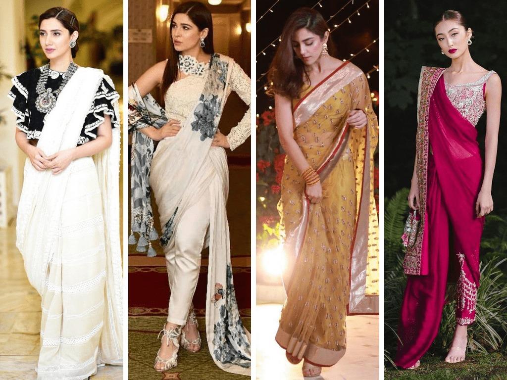 Contemporary Sarees by designers