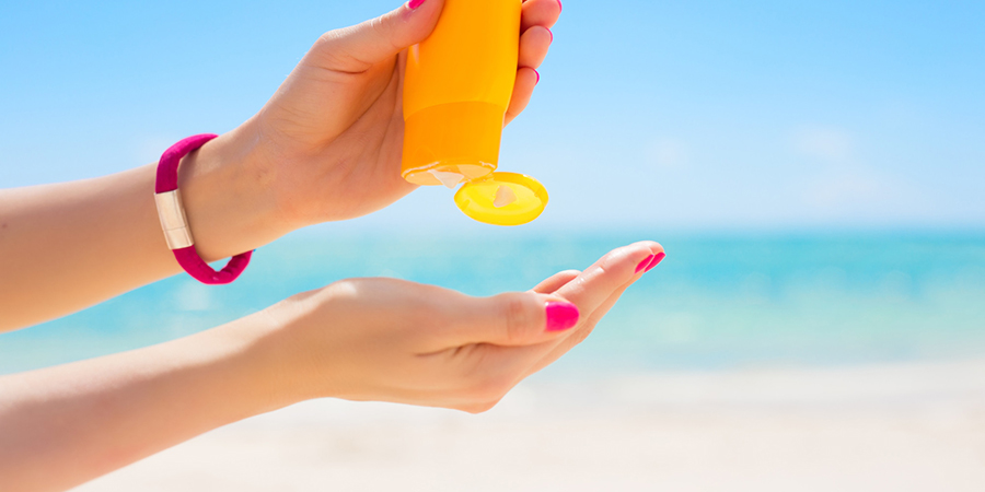 2.Sunscreen