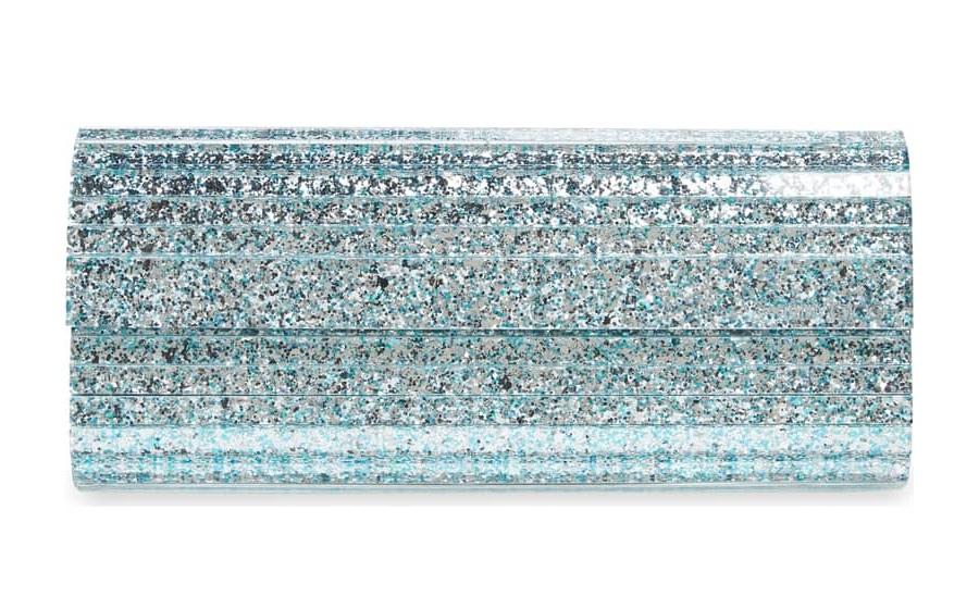 ICE Blue Bridal Clutch