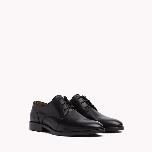10.	Tommy Hilfiger Leather Derby Shoes