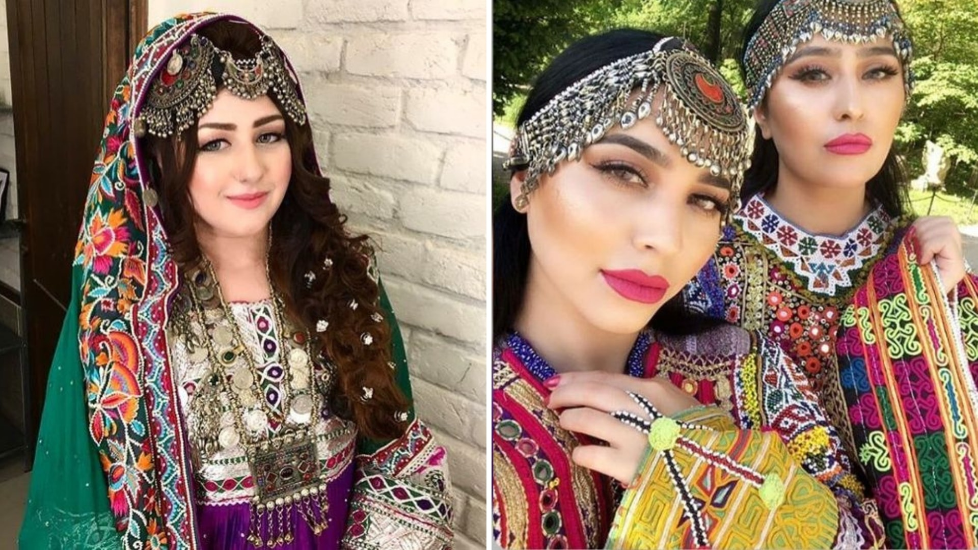 The Provincial Bridal Dresses from Different Regions of Pakistan