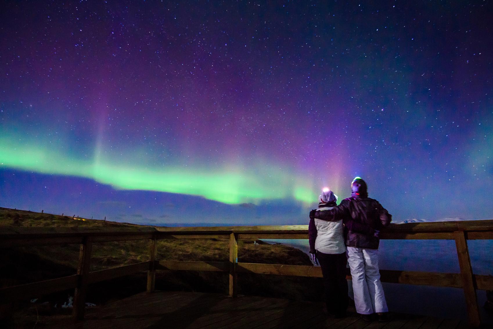 Aurora Borealis for honeymoon