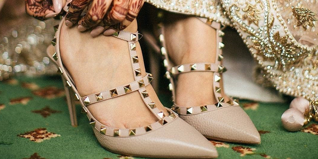 Nude Fancy High Heels For Your Bridal Trousseau