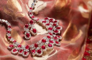 """Something Red"" Designer Wedding Jewelry For Your Barat"
