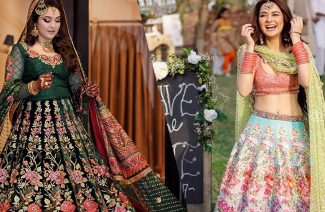 Floral Lehengas; Reinventing the Concept of a Traditional Bride