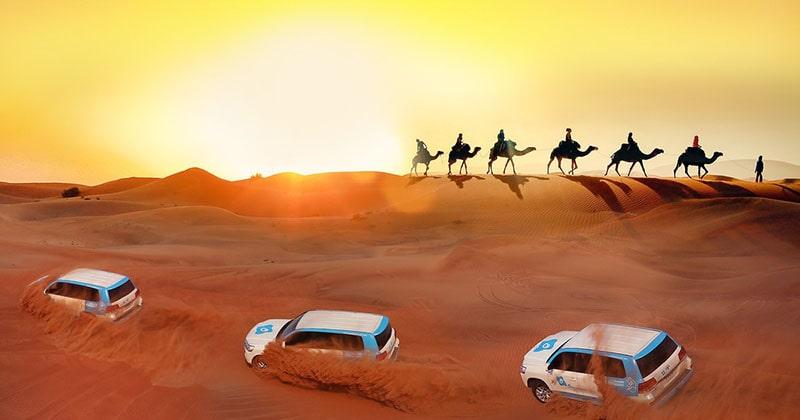 1.Abu Dabi Desert Safari
