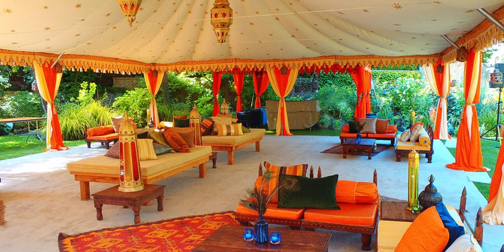9 New And Trendy Tent Ideas For Your Mehendi Decor!