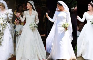 A Decade in Royal Marriages & Savvy Wedding Gowns
