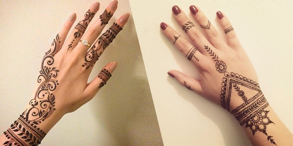 Simple Mehendi Designs For Brides Who Aren't Henna Fans